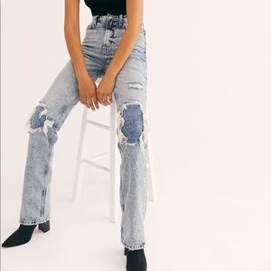 NWT Free People My Own Lane Jeans